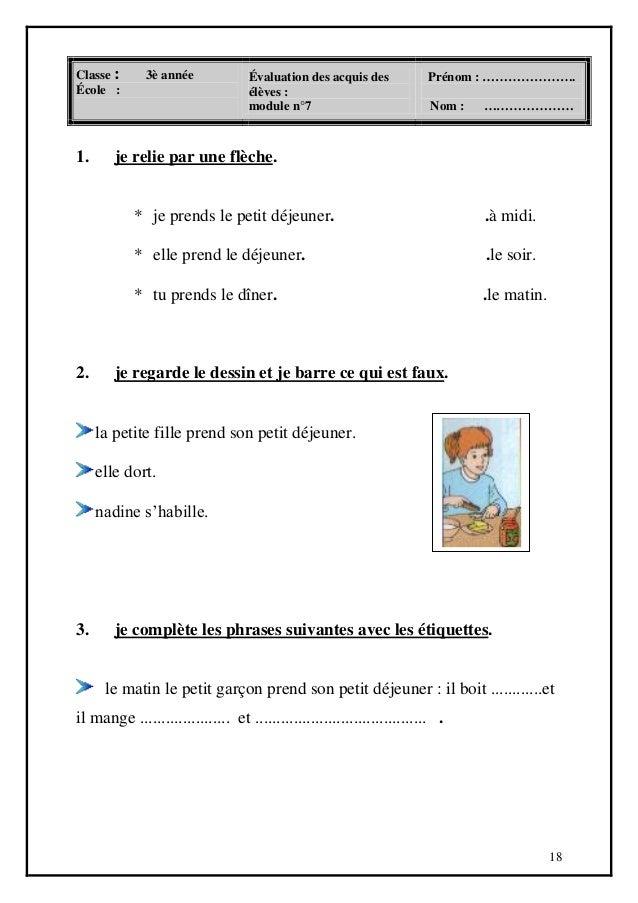 Livre Parascolaire Francais 3 Eme Annee Primaire