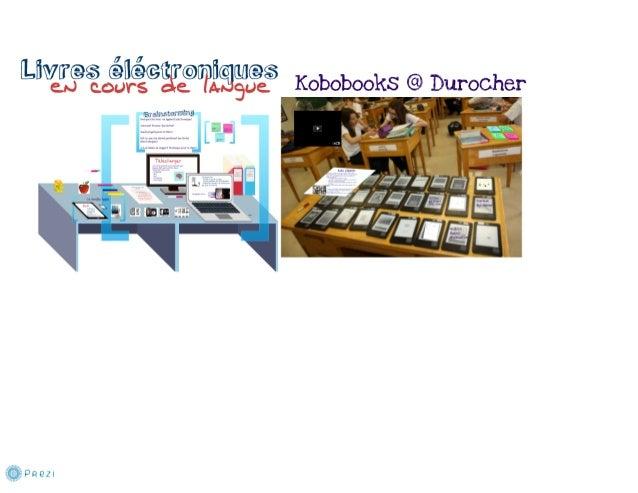 Electronic Books in a Language Classroom - Livres electroniques en cours de langue