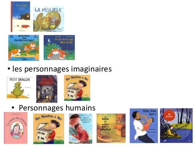 • les personnages imaginaires • Personnages humains