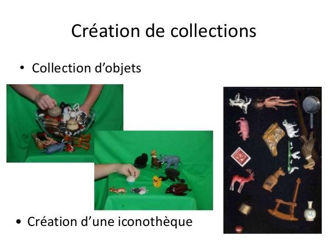 Création de collections • Collection d'objets • Création d'une iconothèque
