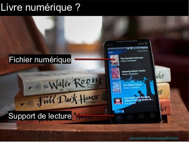 Livre numérique en bibliothèque publique : s'engager ou se marginaliser Slide 3
