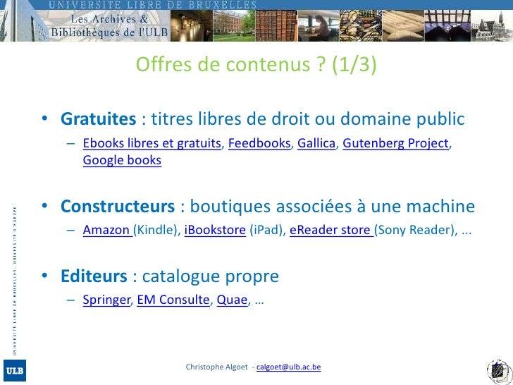 Livres Numeriques Et Nouveaux Supports De Lecture 1