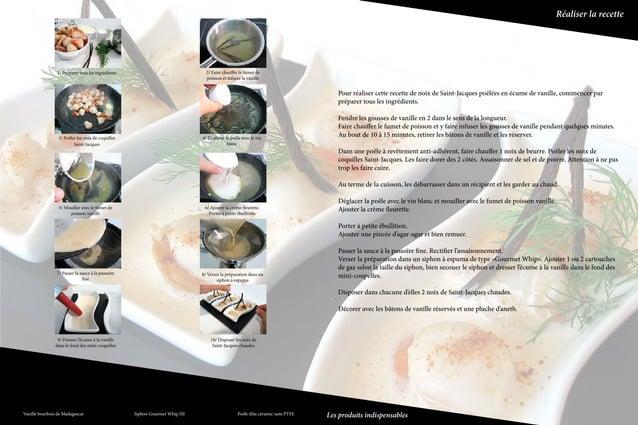 Réaliser la recette                        1/ Préparer tous les ingrédients                                       2/ Faire...
