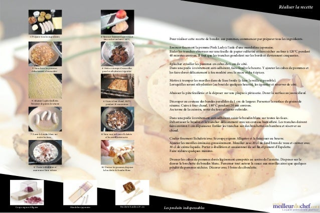 Réaliser la recette                       1/ Préparer tous les ingrédients                                     2/ Emincer ...