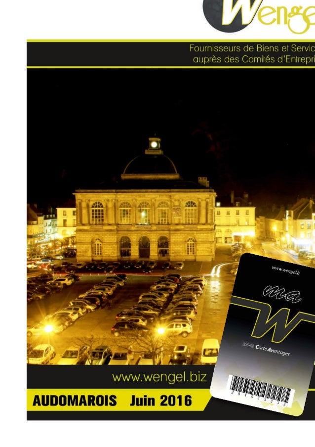 Bienvenue ! Votre Comité d'Entreprise a sélectionné pour vous la carte « Ma W ». Celle-ci vous permet de bénéicier d'un la...