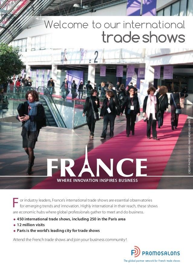 Calendrier des salons internationaux en france 2015 2016 - Salons internationaux ...