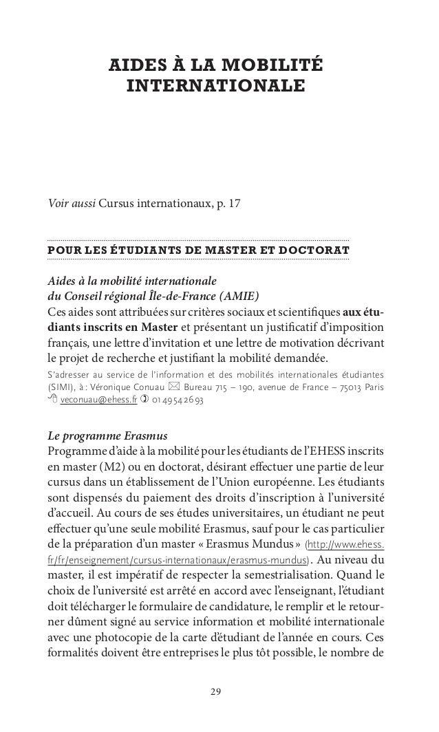 Exemple Lettre De Motivation Bourse Erasmus Sacin Quotes