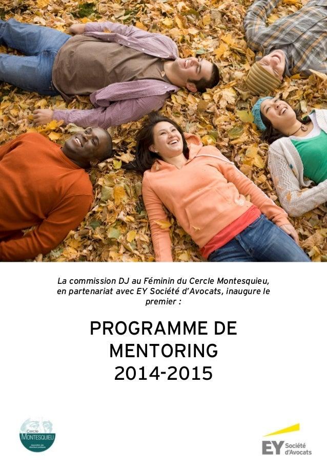La commission DJ au Féminin du Cercle Montesquieu, en partenariat avec EY Société d'Avocats, inaugure le premier : PROGRAM...