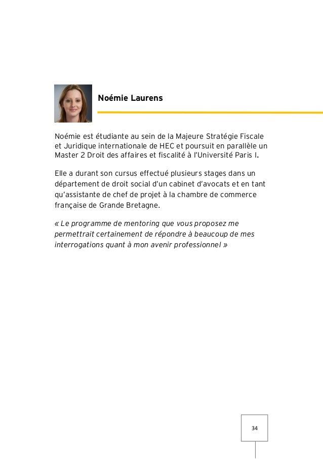 Livret lancement programme de mentoring - Chambre de commerce francaise de grande bretagne ...