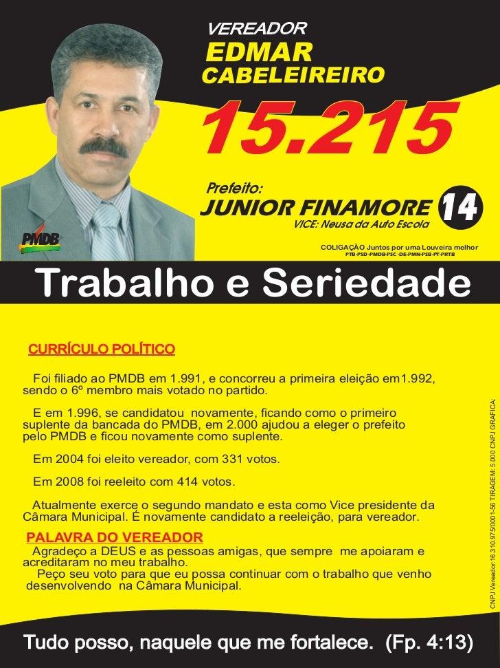 VEREADOR                               EDMAR                              CABELEIREIRO                            15.215  ...