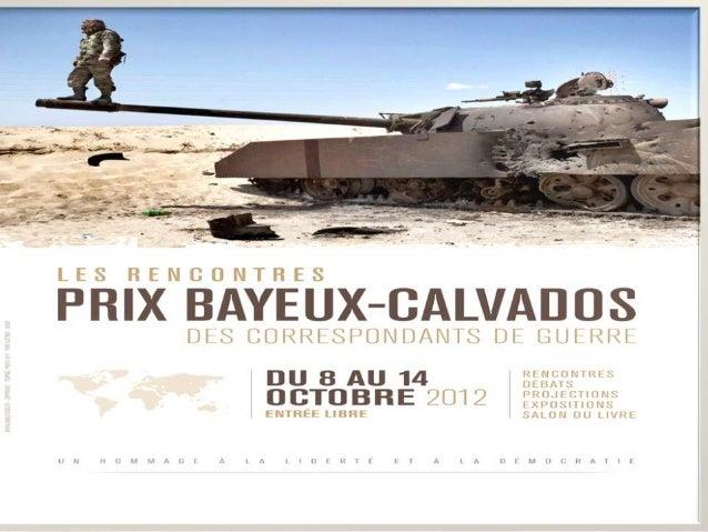 PRIX BAYEUX 2012 ATELIER D'ECRITURE CITOYENS DU MONDE TRAVAUX REALISES PAR LES ELEVES DE TES