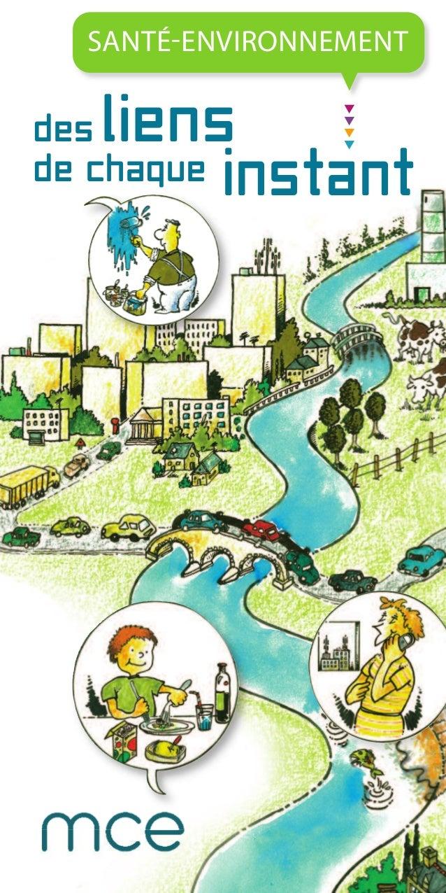 Santé-environnement, des liens de chaque instant