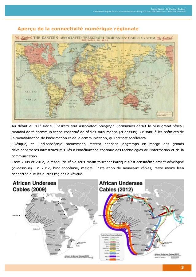 COI - Conférence Connectivité Numérique dans l'Indianocéanie - Oct 2013 Slide 3