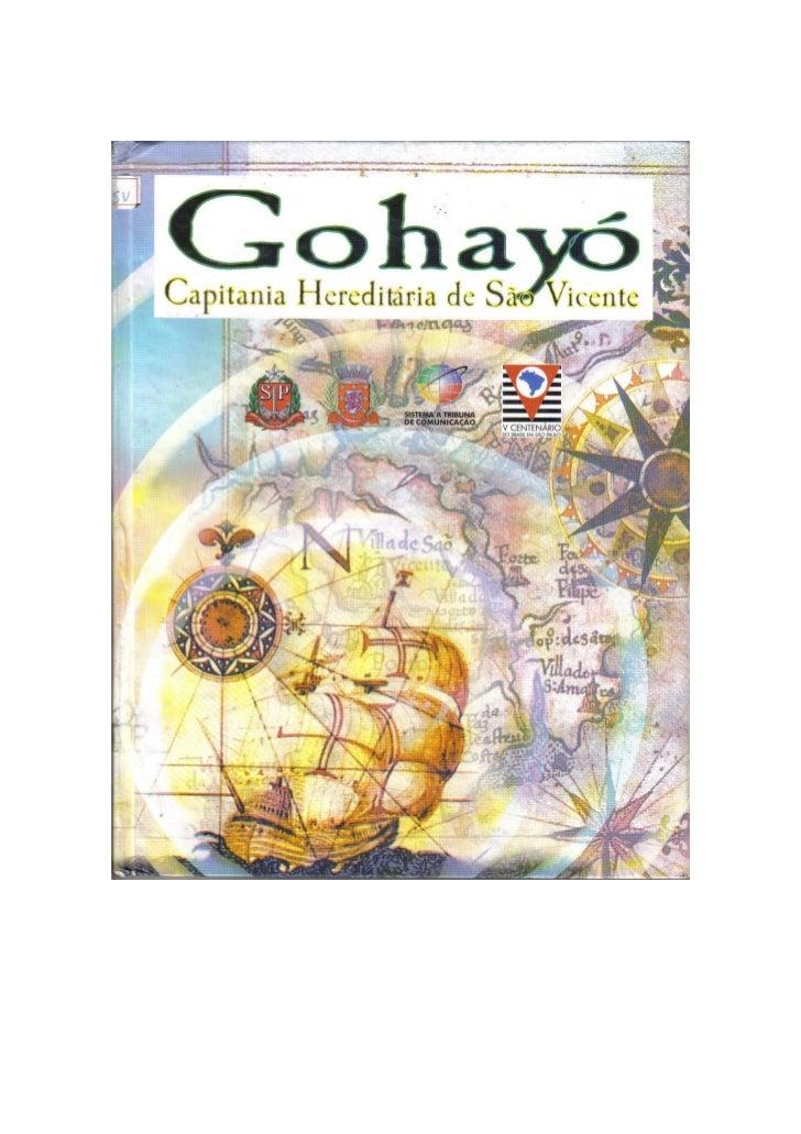 Gohayó - Capitania Hereditária de São Vicente