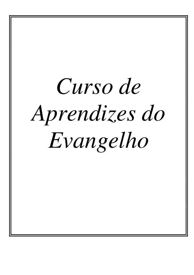 Curso de Aprendizes do Evangelho