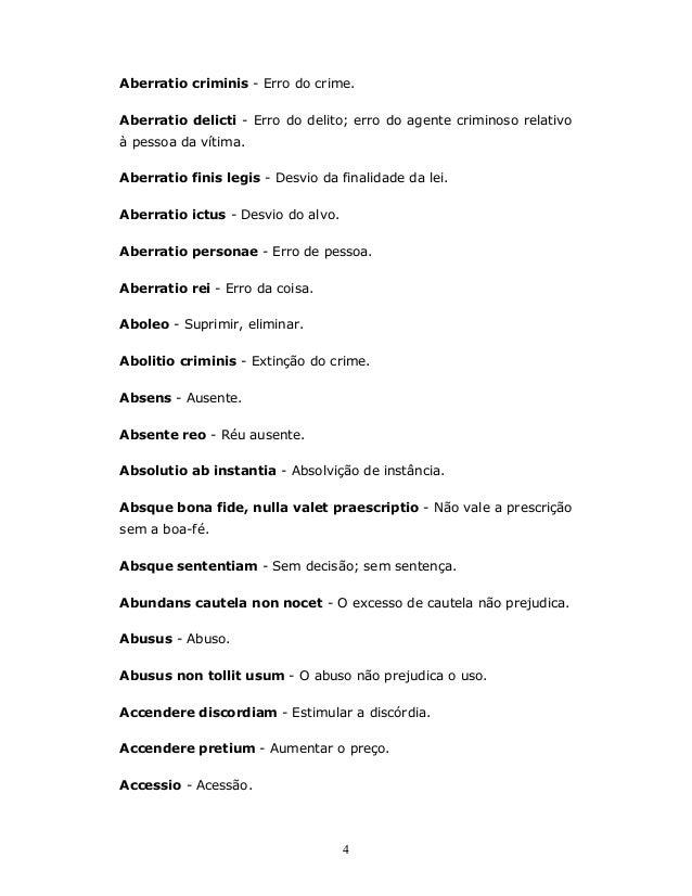 Dicionário Básico Latim Português Expressões E Termos Jurídicos