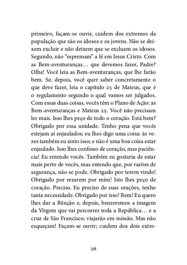 Excepcional Livro discursos-e-homilias-do-papa-francisco-na-jmjrio2013-em-pdf LK27
