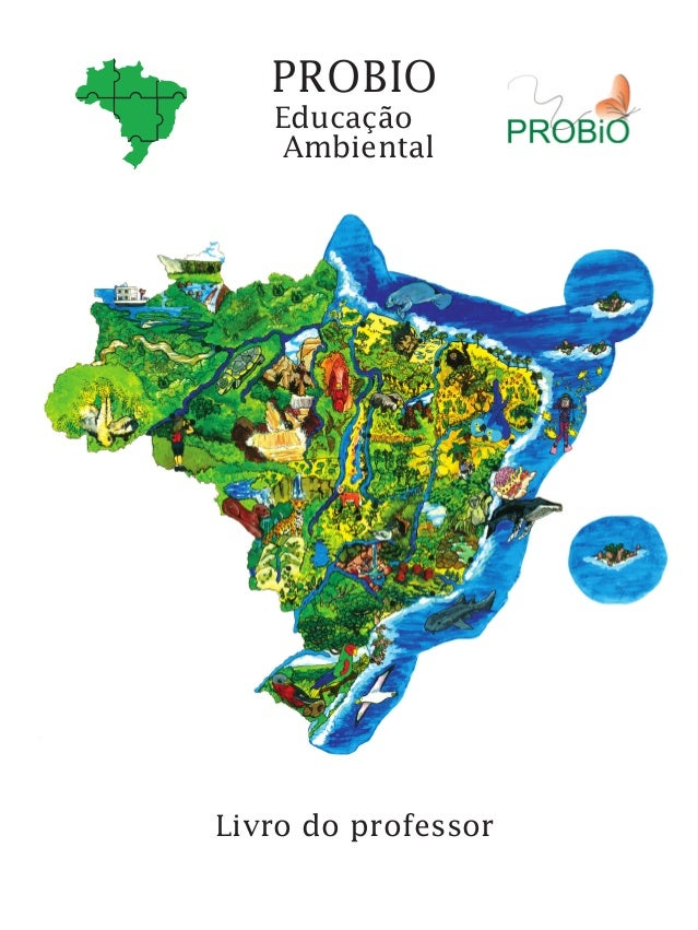Livro do professor Educação Ambiental PROBIO