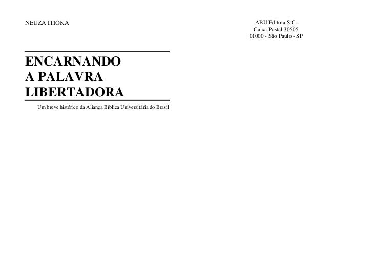 NEUZA ITIOKA                                                         ABU Editora S.C.                                     ...