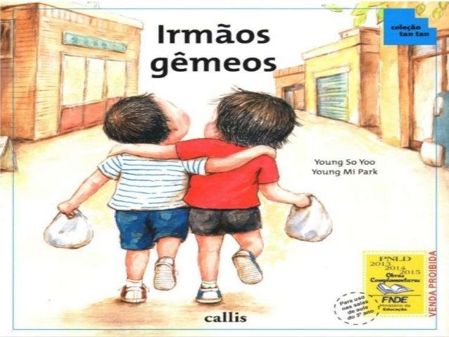 Livro Irmãos Gêmeos Slide 2