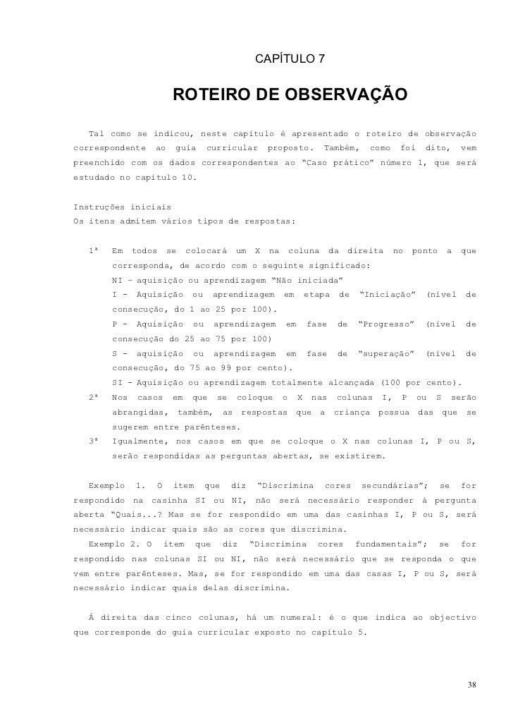 A. DESENVOLVIMENTO PERCEPTIVO1. Percepção Visual                                                   NI   I   P   S   SI.   ...