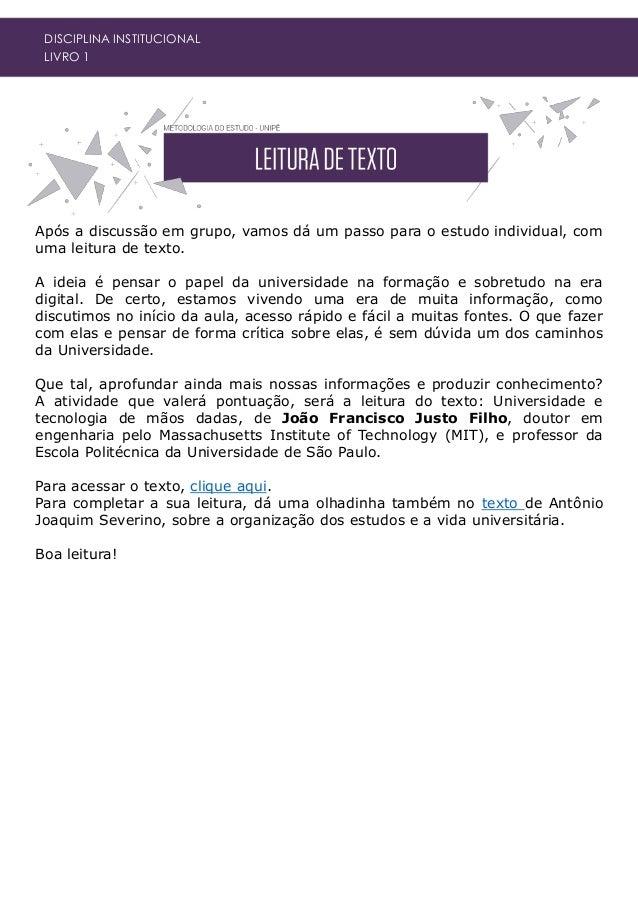DISCIPLINA INSTITUCIONAL LIVRO 1 Dicionário Brasileiro da Língua Portuguesa. Enciclopédia Britânica do Brasil. 12ª Edição....