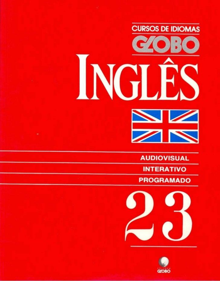 Curso de Idiomas Globo inglês Livro 23