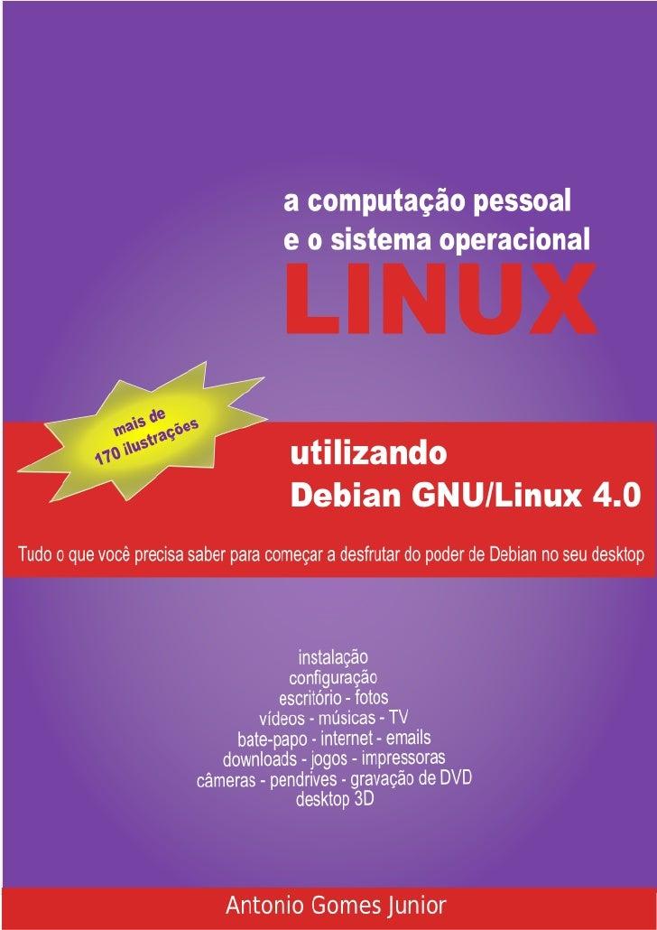 Linux e o Computador Pessoal - vol 1