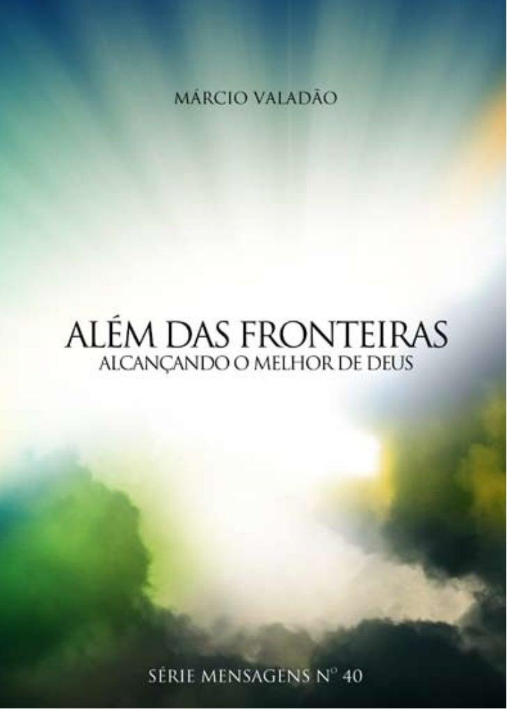 Uma publicação da Igreja Batista da LagoinhaEdição Julho/2008Gerência de Comunicação     Ana Paula CostaTranscrição:     E...