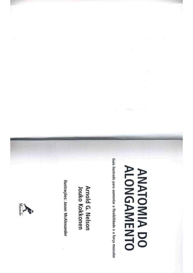 Livro anatomia do alongamento Slide 2