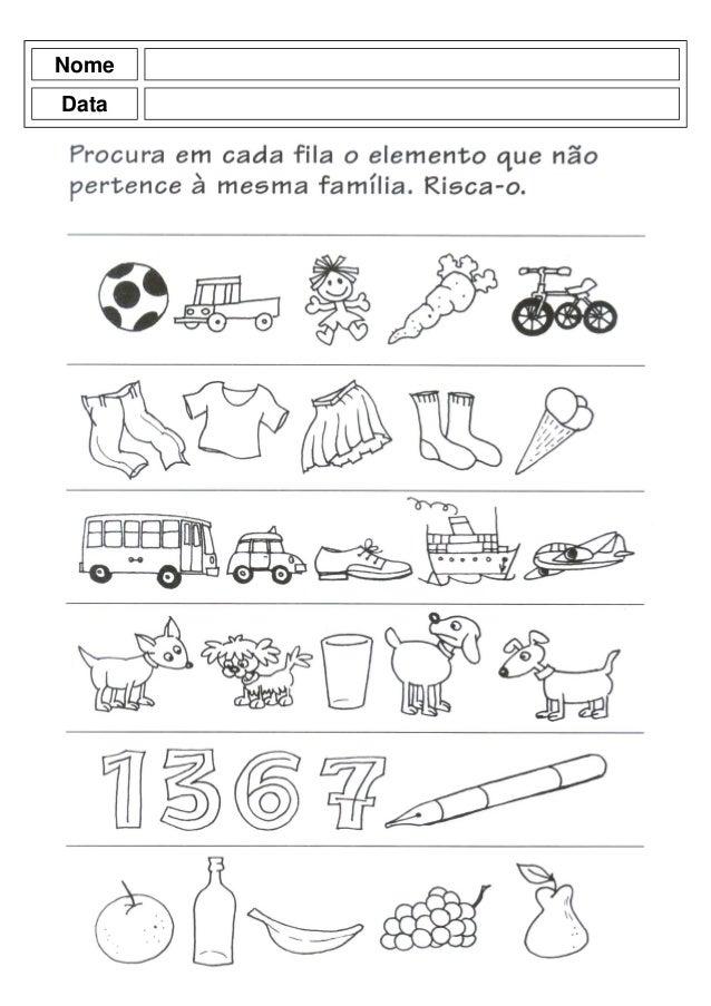 Conhecido Livro atividades pré-escolar OM52