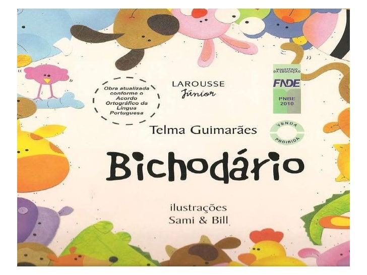Livro Bichodario