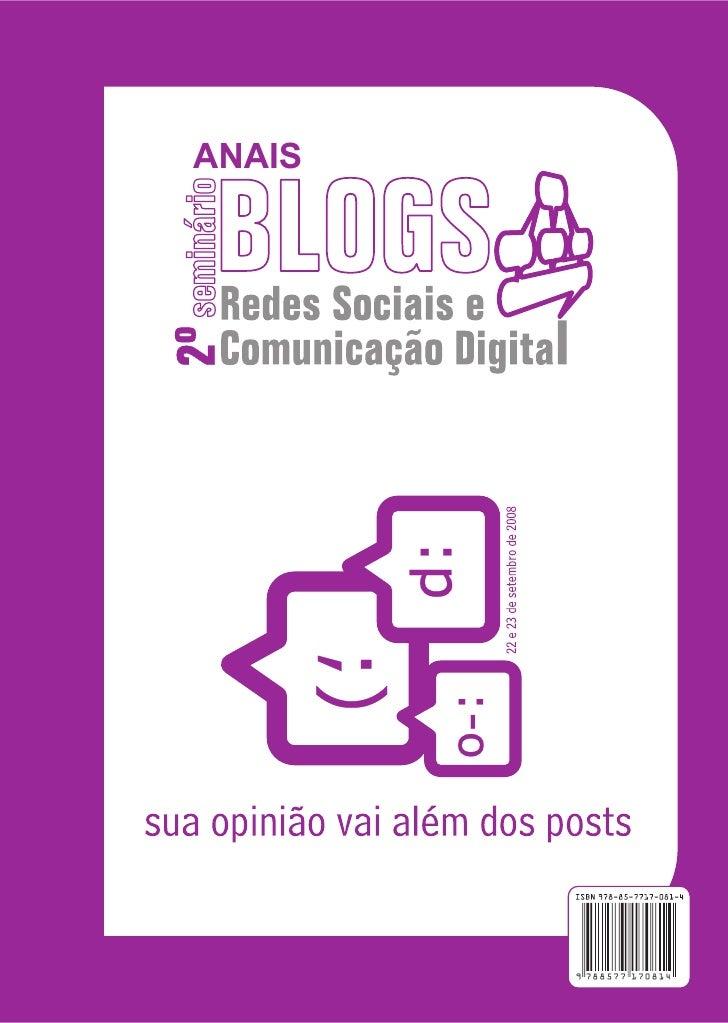 ANAIS        ISBN 85-7717-081-0        9 788577 170814