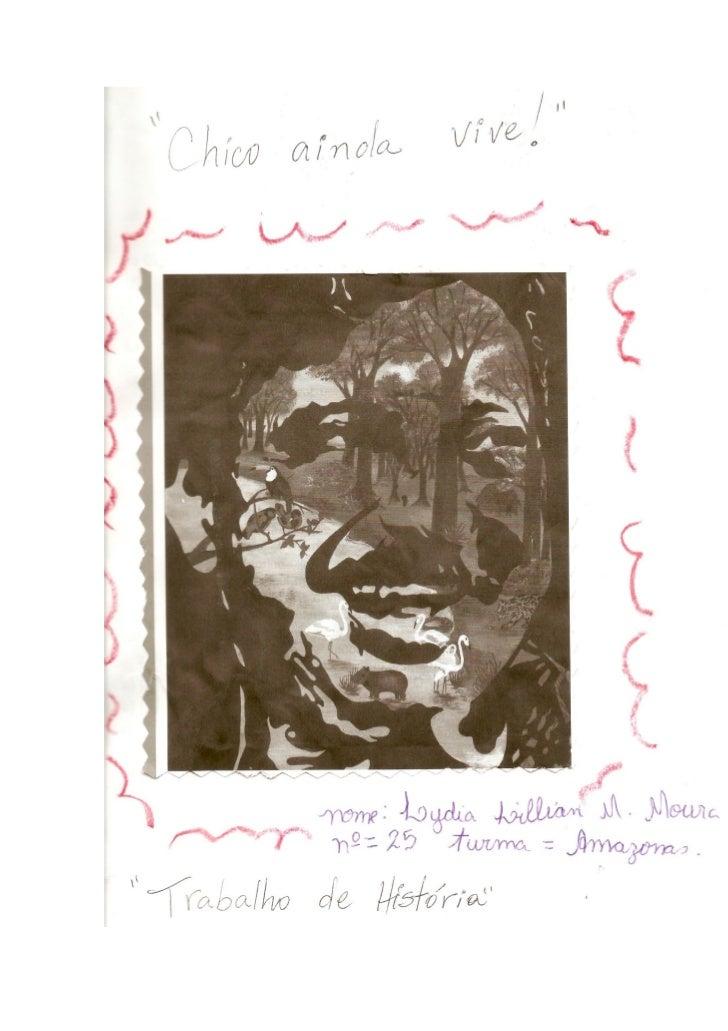 Livro Chico Mendes