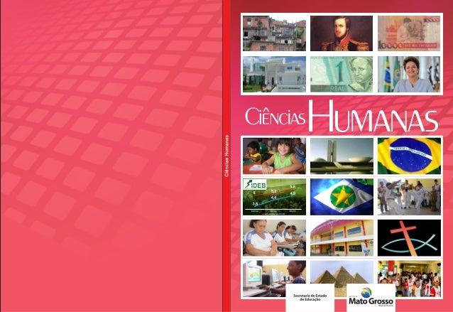 Livro ciencias humanas capa