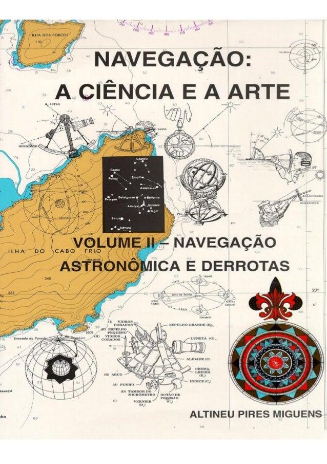 Navegação Astronômica: Definição, Importância e Resenha Histórica  16  NAVEGAÇÃO ASTRONÔMICA: DEFINIÇÃO, IMPORTÂNCIA E RES...