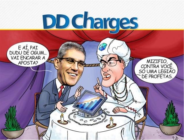 O termo charge tem origem do francês charger e significa carregar, exagerar. No Brasil, a primeira  charge publicada foi a...