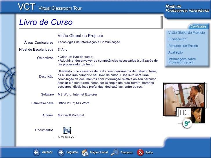 Documentos Autores Microsoft Portugal <ul><li>Criar um livro de curso; </li></ul><ul><li>Adquirir e  desenvolver as compet...