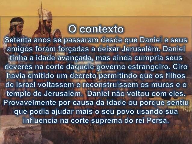 10:1 No terceiro ano de Ciro, rei da Pérsia, foi revelada uma palavra a Daniel, cujo nome era Beltessazar; a palavra era v...