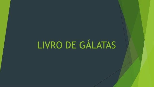 LIVRO DE GÁLATAS