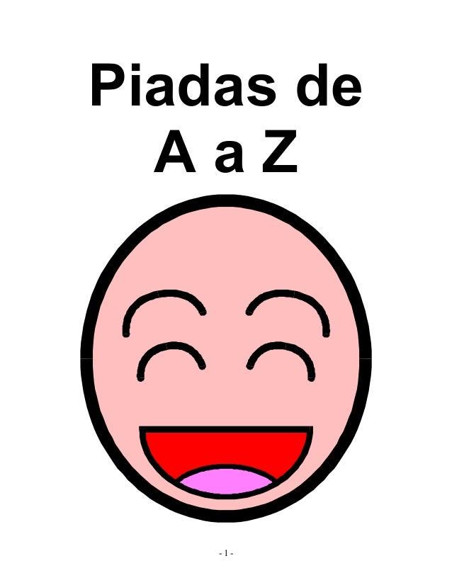 Piadas de AaZ  -1-
