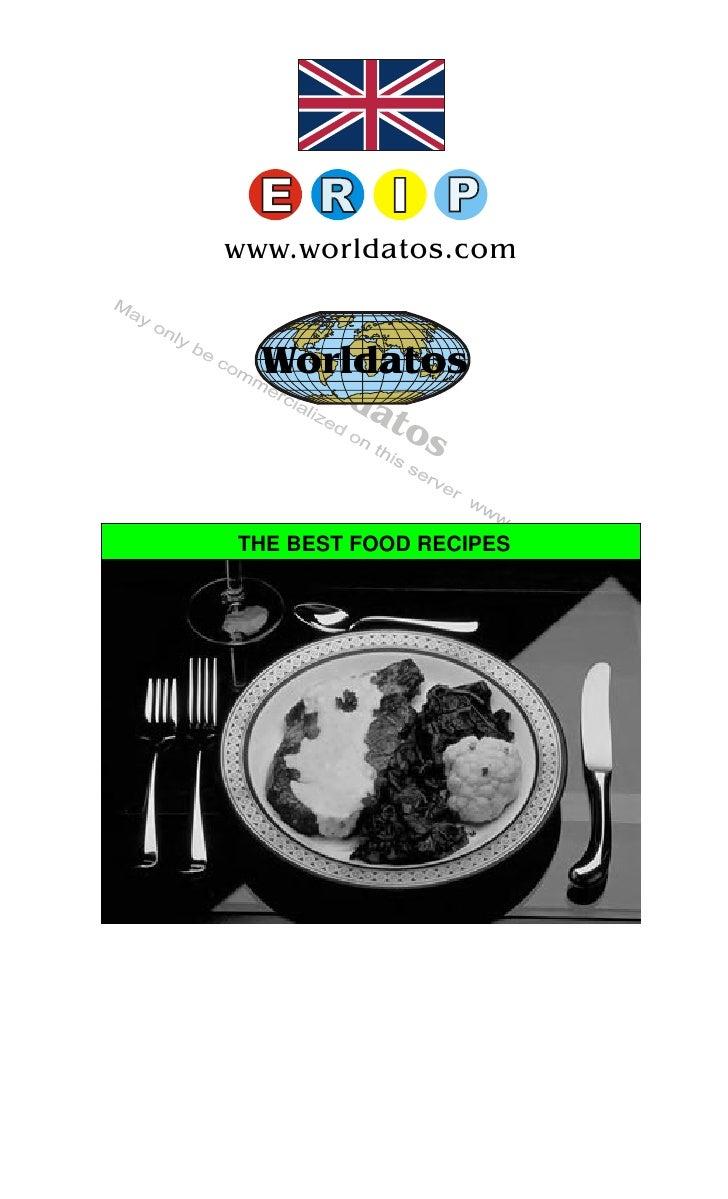 Worldatos     www.worldatos.com     Wo   Worldatos      r   ld             at                os   THE BEST FOOD RECIPES   ...