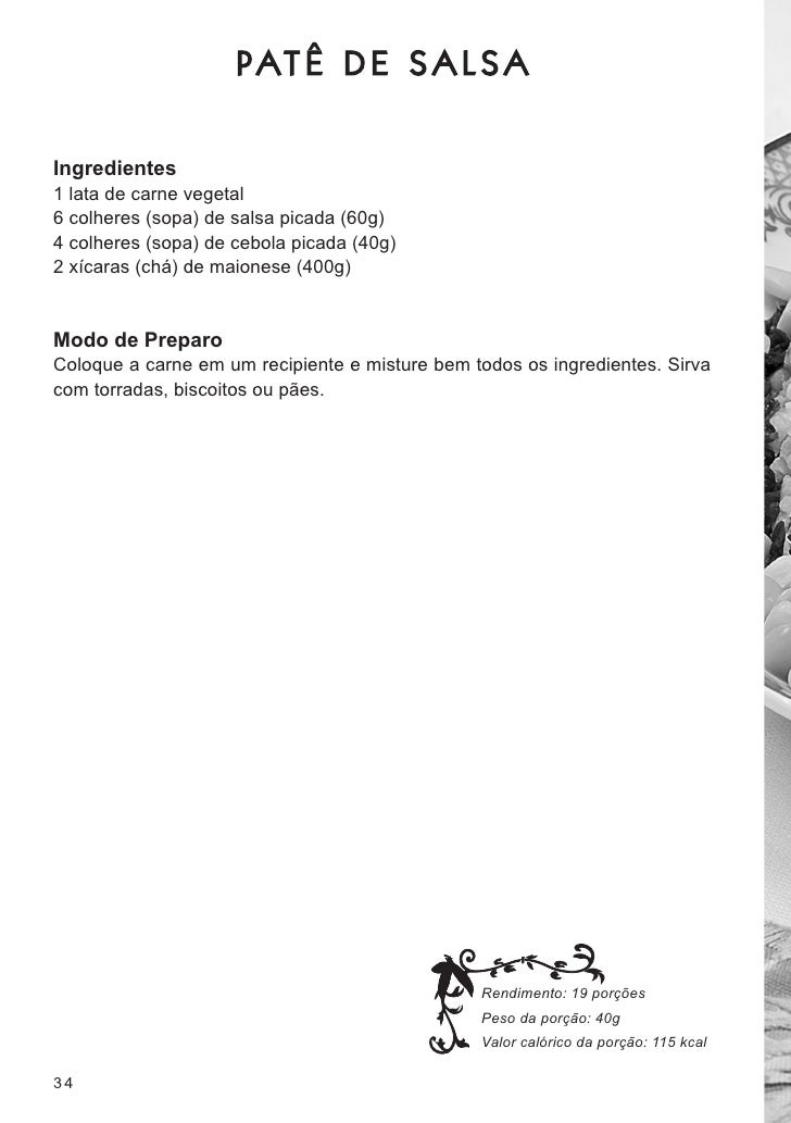 Livro de receitas manual soja for Manual tecnicas culinarias