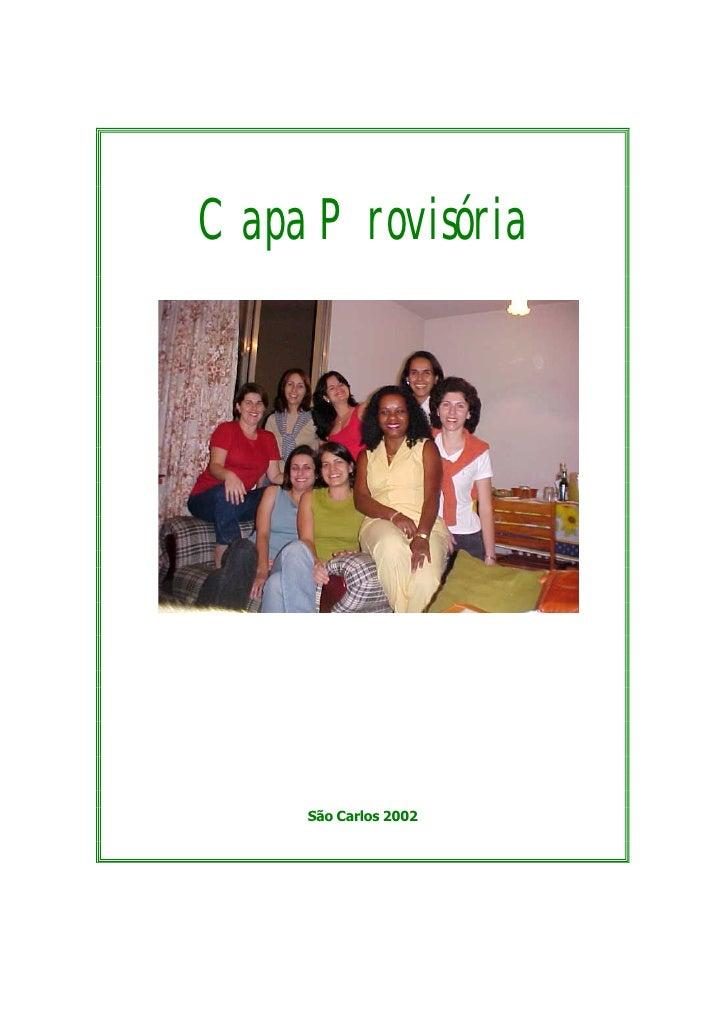 Capa Provisória         São Carlos 2002