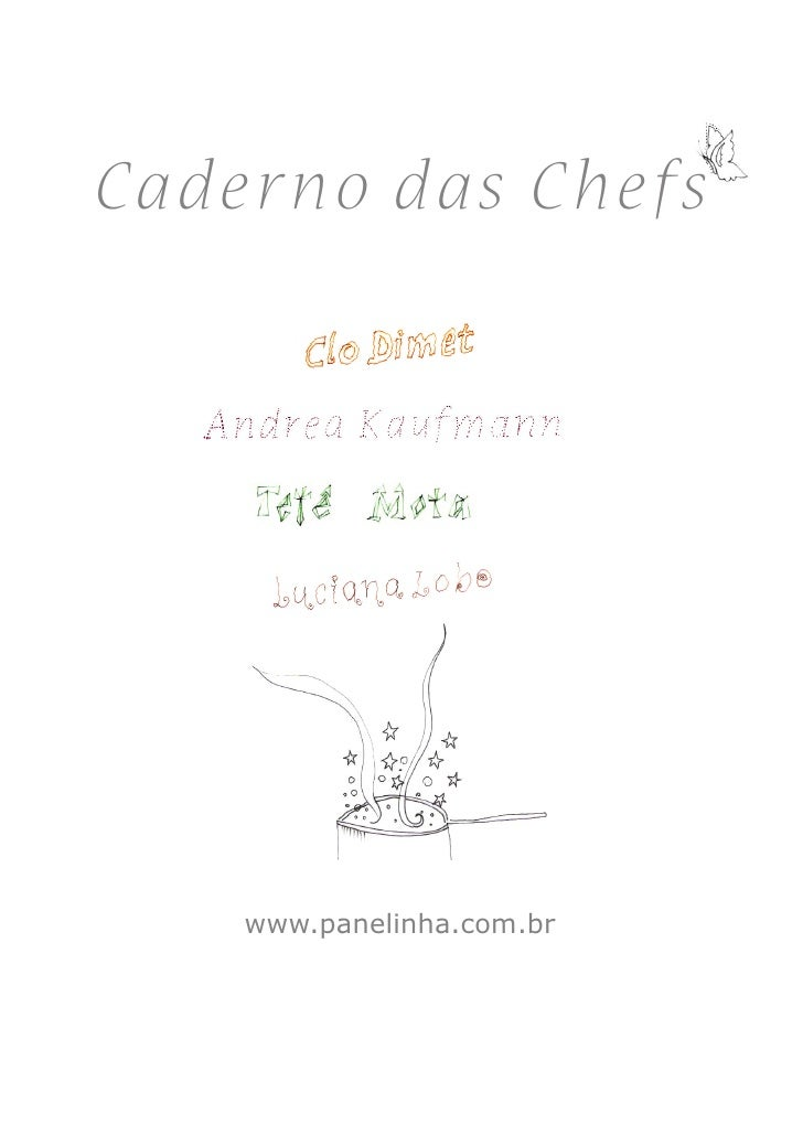 C ader no das C he fs          www.panelinha.com.br