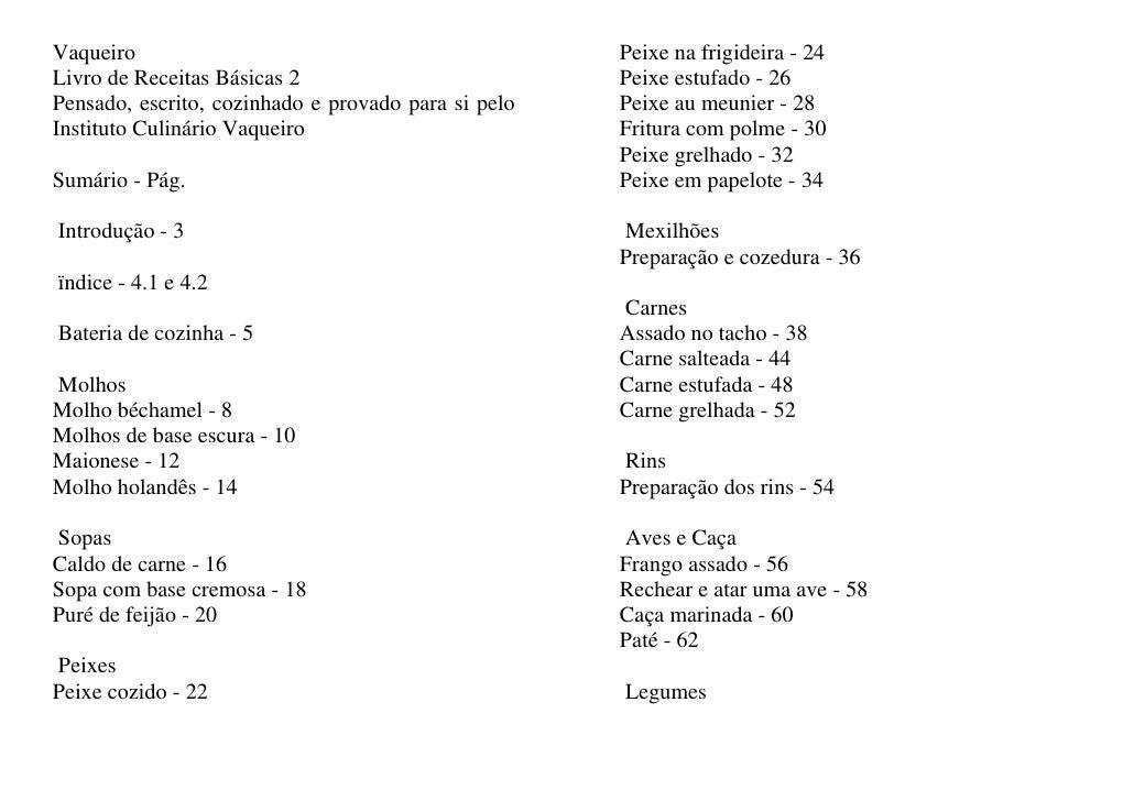 Vaqueiro                                             Peixe na frigideira - 24 Livro de Receitas Básicas 2                 ...