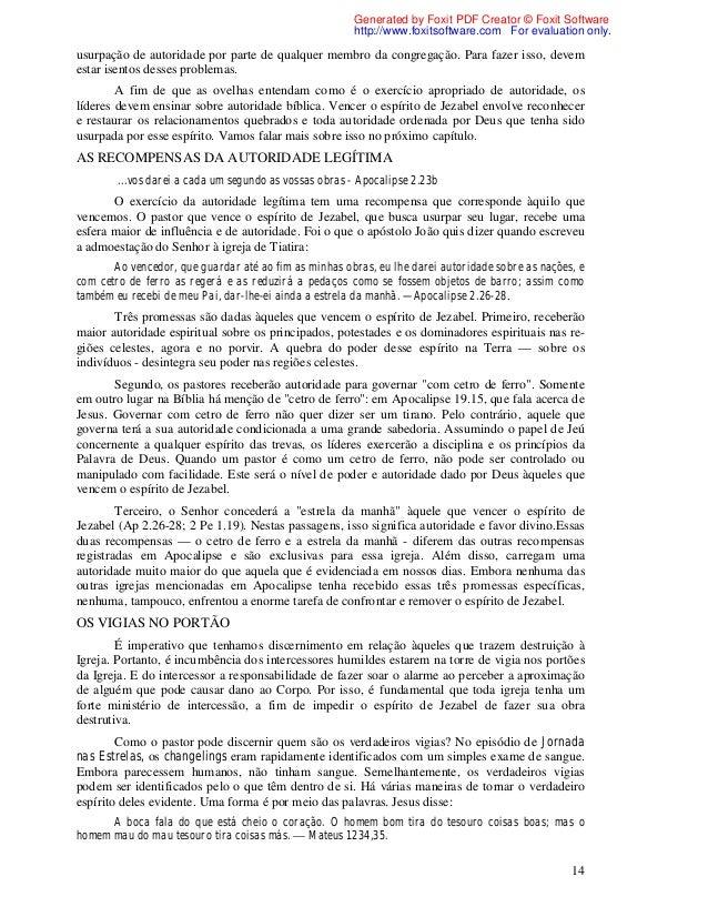 ESPIRITO JEZABEL DESMASCARANDO O BAIXAR DE