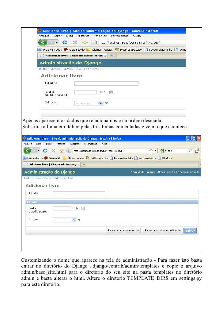 django site templates - django m dulo b sico parte i desenvolvimento de uma