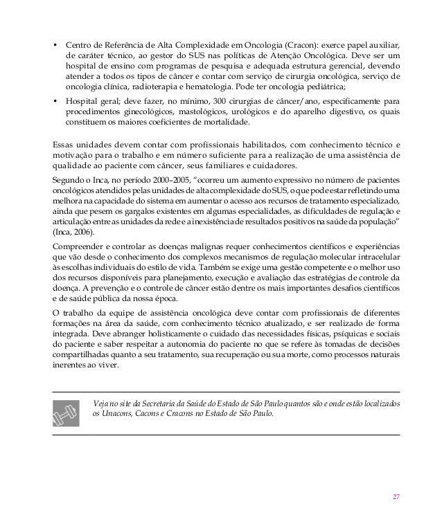 Livro do aluno oncologia for Sala quimioterapia requisitos