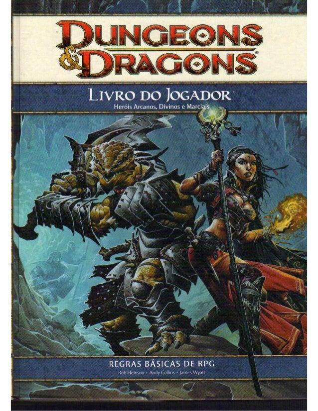 Livro do jogador 1 d&d 4.0 [português]